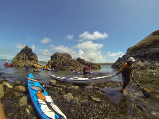 Ramsey Island landing