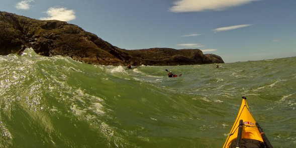 Paddling around St. David's head