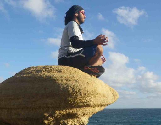 Santi Meditates