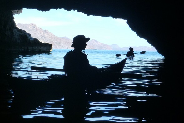 Rob in a Carmen Island cave