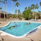 The pool at Tripui Resort