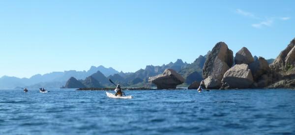Sierra la Giganta coastline